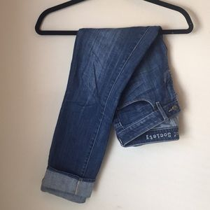 Articles of Society Cuffed Boyfriend Jeans
